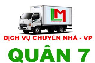 Cho thuê xe tải chở hàng quận 7
