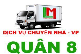 Cho thuê xe tải chở hàng quận 8