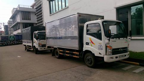 Xe chở hàng 2 tấn dài 4m3