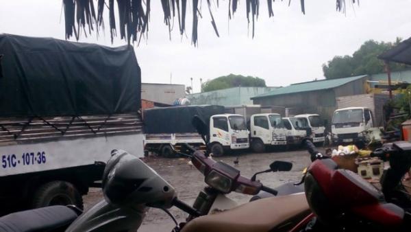 Xe tải chở hàng tại quận 8