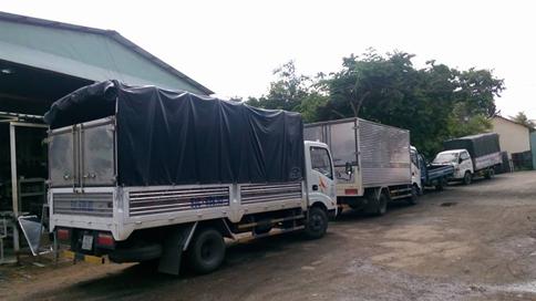 Dịch vụ Taxi tải 2 tấn chở hàng thùng dài 4m3