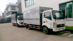 xe tải chở hàng dài 4 mét 3