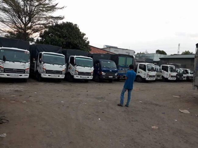 Gía thuê xe tải chở hàng