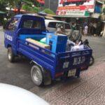 Cho thuê xe ba gác chở đồ