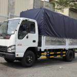 Cho thuê xe 2 tấn vận chuyển hàng hóa thùng dài 4m3 mui bạt