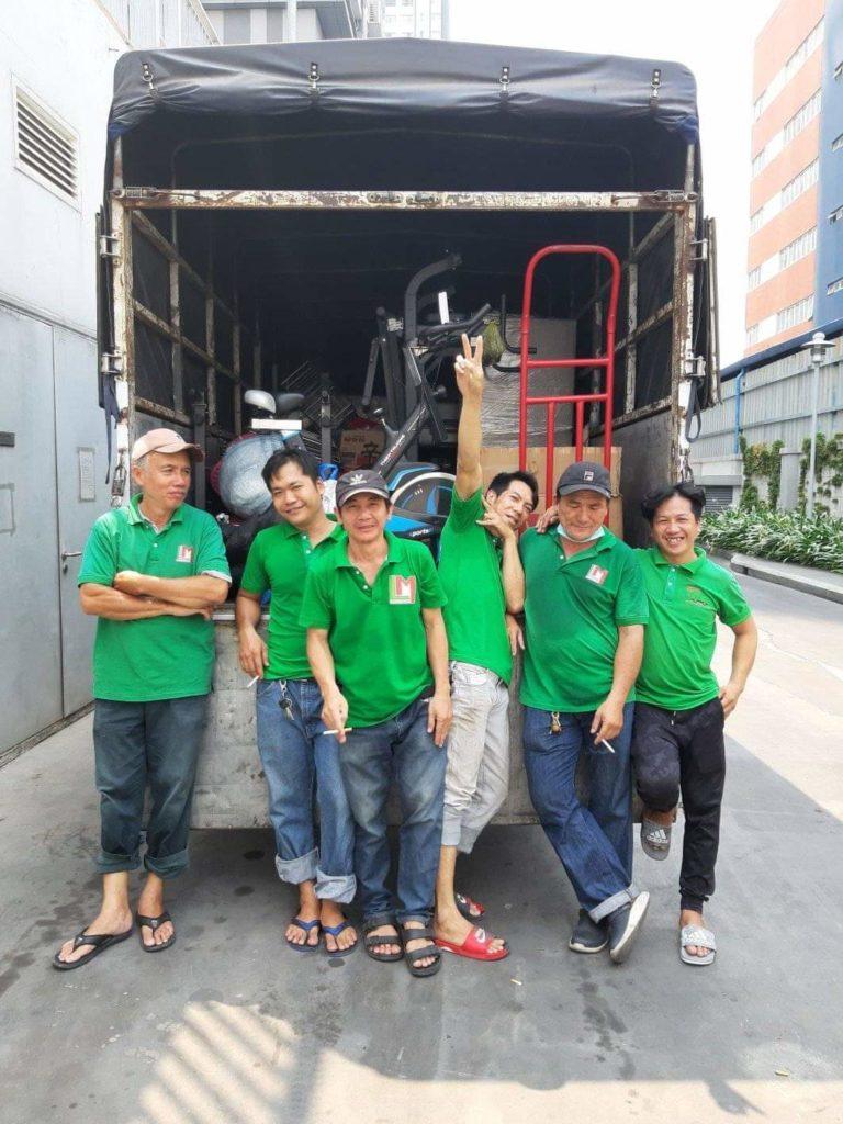 Dịch vụ chuyển nhà quận tân phú