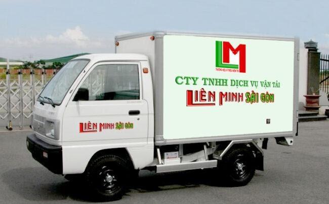 Xe tải nhỏ chở đồ đạc
