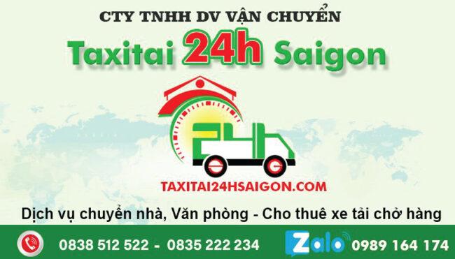 Taxi Tải Chuyển Nhà 24H Sài Gòn