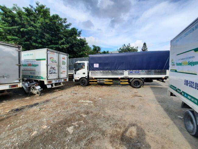 Xe tải 3,5t dài 6 mét