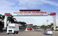 Cho thuê xe tải chở hàng tại KHU CÔNG NGHIỆP TÂN PHÚ TRUNG